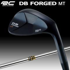ロイヤルコレクション DB フォージド MT ウェッジ 黒染め仕上げ ダイナミックゴールド シャフト
