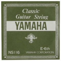 YAMAHA/クラシックギター弦バラ NS116(6E)【ヤマハ】
