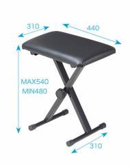 KIKUTANI/折りたたみ式 キーボード用椅子 KB-66【キクタニ】