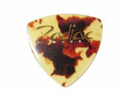 Zodiac Works(ゾディアック・ワークス) ギターピック ロゴ入りピック トライアングル ベッコウ柄 0.8mm×10枚セット/GUITAR PICKS-TRIA
