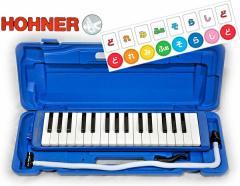 【今なら「どれみふぁシール」1枚進呈中♪】HOHNER(ホーナー)鍵盤ハーモニカMelodica/メロディカStudent32鍵【BLUE=青】【送料無料】: