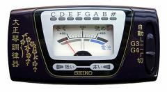 【大正琴専用チューナー(調律器)】SEIKO ST300 キャリングポーチ付/ST-300【送料無料】:-as