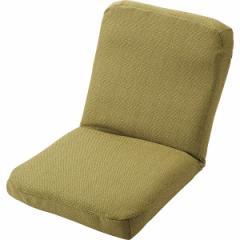チュレミ ミニ座椅子 グリーン  A34GN (10P)