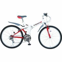 【送料無料】スウィツスポート 26型折りたたみ自転車   SW-MA26L