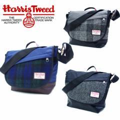 送料無料 メッセンジャーバッグ メンズ ハリスツイード HarrisTweed 17372000  ショルダー 通学 バッグ 旅行バッグ レディス