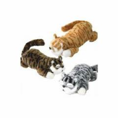 笑う 猫田課長 笑う&転がる猫 ぬいぐるみ ヌイグルミ わらうネコ 笑うねこ コロがる猫 おもちゃ