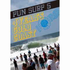 送料無料 10%OFF SURF DVD FUN SURF 5 GOLD COAST オススメサーフィンDVD アンディ、パーコ、ケリー、ミッ