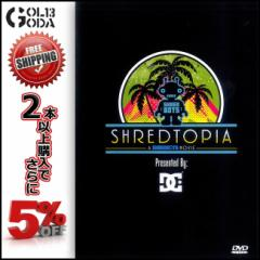 15-16 DVD SNOW SHREDTOPIA DC presents Shred Bots ディーシー SNOWBOARD スノーボード