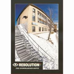 【スマホエントリーでP10倍】16-17 DVD SNOW RESOLUTION SNOWBOARDER MAGAZINE presents スノーボード
