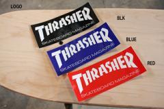ステッカー THRASHER LOGO 15cm x 6cm スラッシャー
