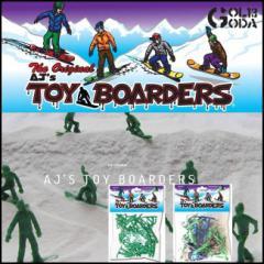 送料無料 フィギュア TOY BOARDERS SNOWBOARD トイボーダーズ スノーボードフィギュア24人入り オス