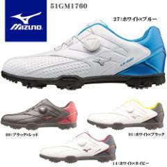 ミズノ MIZUNO メンズ ゴルフシューズ ライトスタイル 002 Boa ワイズ:3E 51GM1760