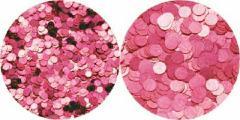 【メール便のみ送料無料】eriko nail エリコネイル/ジュエリーコレクション/ライトピンク/1mm& 2mm/ネイルアート/丸ホロ/ホログラム