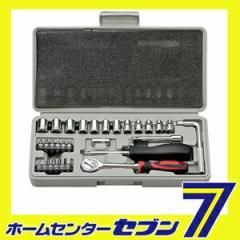 29PCS.ソケットレンチ&ビットセット No.521  大橋産業 BAL [工具 工具セット レンチセット ビットセット バル]