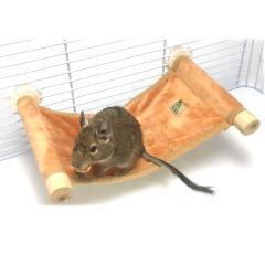 【19周年セール中】ステージモック/小動物・小鳥用ステージ型ハンモック インコ デグー リス モモンガ 寝床 遊び場 SANKO