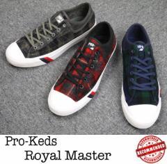 PRO-Keds【プロケッズ】Royal Master DK Woolrich ロイヤル マスター X ウールリッチ スニーカー