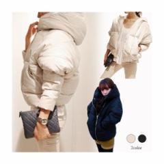 ダウン ジャケット 中綿 コート アウター ショート 軽量 可愛い 暖かい レディース 3714102101