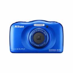 【送料無料】Nikon(ニコン) デジカメ COOLPIX W100 [カラー選択式:ブルー/ピンク/マリン]【メール便不可】
