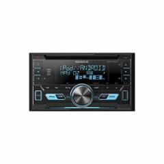 JVCケンウッド[KENWOOD]【カー用品】DPX-U530 MP3/WMA/AAC/WAV/FLAC対応CD/USB/BTレシーバー 2DINサイズ【ラッピング不可】