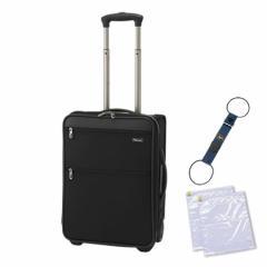 【スーツケース】 パスファインダー Revolution XT DAX トロリー [PF6819DAXB] [19インチ/約30〜44L] ★便利グッズセット