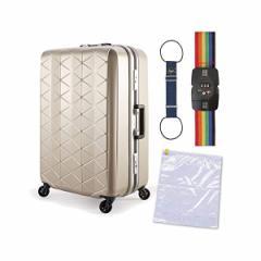 サンコー鞄 【スーツケース】 SUPER LIGHTS MGC [約73L] MGC1-63 ★便利グッズセット
