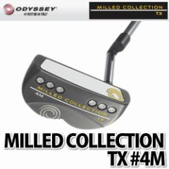 ODYSSEY パター MILLED COLLECTION TX #4M 【長さ:34インチ】