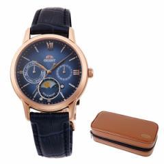 【セット】【腕時計】[オリエント]ORIENT RN-KA0004L [クラシック]CLASSIC レディース SUN&MOON ペアモデル【限定】&腕時計ケース