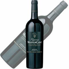 【赤ワイン】ムートン カデ レゼルヴ・メドック 2013 750ml バロン・フィリップ・ド・ロスチャイルド
