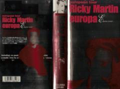 【VHSです】リッキー・マーティン/ヨーロッパ・ツアー 中古ビデオ【中古】