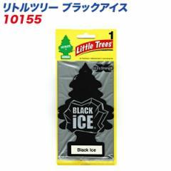 メール便可//バドショップ:LittleTrees エアーフレッシュナー 吊り下げ式芳香剤 ブラックアイス 消臭/10155/