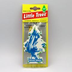 メール便可|バドショップ:リトルツリー LittleTrees エアーフレッシュナー 吊り下げ式芳香剤 ホワイトウォーター 消臭/13844/