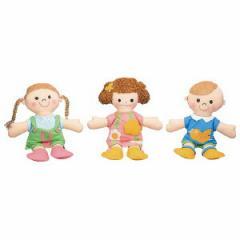きせかえ人形あそびセット(3体組)    1セット(3個)