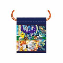 ポケットモンスター サン&ムーン きんちゃくS 2017年新入学文具 890728001 巾着袋 ポケモン 文房具