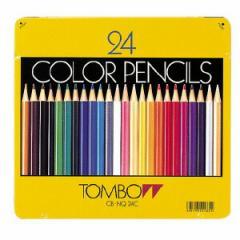 缶入色鉛筆  24色 【トンボ鉛筆】 86051782