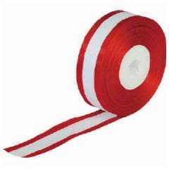 リボンテープ 赤耳 30m 幅24mm      us8-610-1068