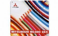 【三菱鉛筆】【色鉛筆】 色鉛筆880 24色 K88024CP