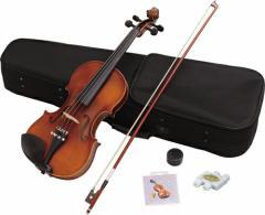 【送料無料】初心者にオススメ!ヴァイオリン♪ Hallstatt(ハルシュタット) バイオリン 初心者入門 6点セット (サイズ:4/4) V12