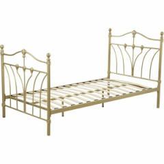 シングルベッド ベット  AZUMAYA B-351S-GD GD おしゃれ インテリア 家具 寝具