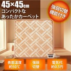 TEKNOS 45×ミニマット EC-K403 ホットマット カーペット マット 電気暖房