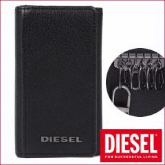 ディーゼル 6連キーケース DIESEL キーホルダー メンズ ブラック X03922 PR271 T8013