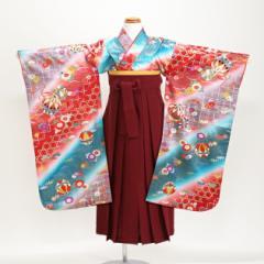 【袴 卒園式 女の子】七五三 着物 レンタル 7歳 5歳【七五三 袴】 128
