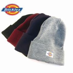ディッキーズ ニットキャップ Dickies ニット帽子 ロゴ メンズ レディース ユニセックス プレゼント スノボ スキー (全4色)