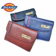 ディッキーズ 財布 Dickies 二つ折り ライン入り 札入れ コンパクト メンズ レディース ユニセックス ギフト プレゼント(全3色)