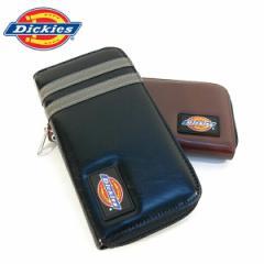 ディッキーズ 財布 Dickies オールファスナー財布 PUレザー メンズ レディース ロングウォレット ユニセックス ギフト(全2色)
