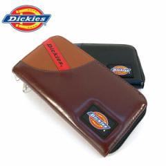 ディッキーズ 財布 Dickies オールファスナー財布 PUレザー メンズ レディース ロングウォレット ユニセックス ギフト (全2色)