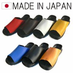 日本製 ヒールフィットサンダル カラー豊富 当店だけのオリジナル 国産 新感覚の履き心地 (7色)
