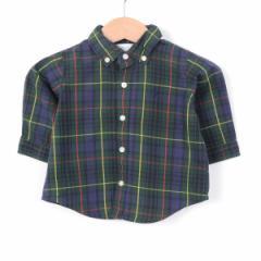 ラルフローレン 長袖・ボタンダウンシャツ M6 ボーイ60cm Ralph Lauren 140611【SS1703】 /web7840