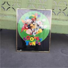 90年代 ルーニーチューンズ USA製 ポスター Looney Tunes 【古着屋JAM】 160907 /god0023
