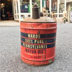 30年代 モンゴメリーワード オブジェ ガソリン缶 アンティーク オイル缶 ヴィンテージ Montgomery Ward ガーデニング/ /god0051