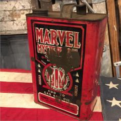オブジェ ガソリン缶 USA製 アンティーク オイル缶 ヴィンテージ MARVEL OIL 【161230】 /god0499